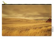 Old Barn In The Wheat Field Carry-all Pouch