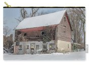 Old Barn In Upper Roxborough In The Snow Carry-all Pouch
