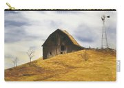 Old Barn With Windmill Carry-all Pouch