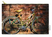Old Bike And Bricks Carry-all Pouch