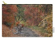 Old Bike In Autumn Carry-all Pouch