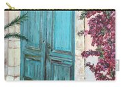 Old Blue Doors Carry-all Pouch