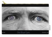 Old Blue Eyes Poster Print Carry-all Pouch