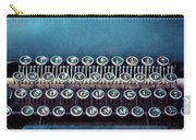 Old Blue Typewriter Carry-all Pouch