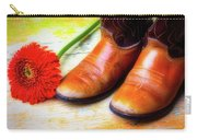 Old Boots And Daisy Carry-all Pouch