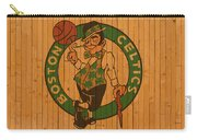Old Boston Celtics Basketball Gym Floor Carry-all Pouch