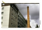 Old Brick Chimney Amongst Modern Office Buildings Near The Railway Station Perugia Umbria Italy Carry-all Pouch