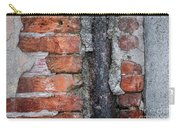 Old Brick Wall Abstract Carry-all Pouch