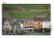 Old Buildings And Vineyards Carry-all Pouch