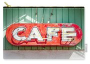 Old Cafe Sign Carry-all Pouch