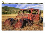 Old Car At Susanville Ranch Carry-all Pouch
