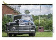 Old Car In Front Of House Carry-all Pouch