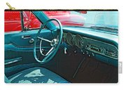 Old Car Interior Carry-all Pouch