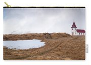 Old  Church In Hellnar, Snaefellsnes Peninsula, Iceland Carry-all Pouch