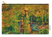 Old Church On The River Carry-all Pouch