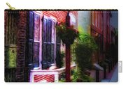 Old City Streets - Elfreth's Alley Carry-all Pouch by Bill Cannon