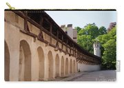 Old City Wall In St Alban Basel Switzerland Carry-all Pouch