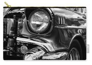 Old Classic Car In Black And White Carry-all Pouch