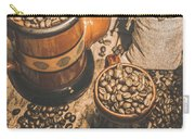 Old Coffee Brew House Beans Carry-all Pouch