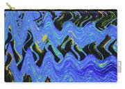 Old Columbia River Water Front Abstract Carry-all Pouch
