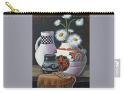 Old Court Shasta Daisy Carry-all Pouch