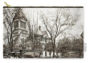 Old Courthouse Public Square Wilkes Barre Pa Late 1800s Carry-all Pouch