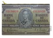 Old Currency  Carry-all Pouch