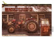 Old Days Vintage Carry-all Pouch by Debra and Dave Vanderlaan