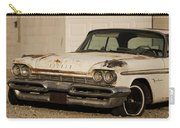 Old Desoto In Sepia Carry-all Pouch