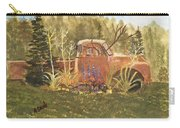 Old Dodge Truck In Garden Carry-all Pouch
