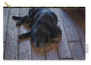 Old Dog Old Floor Carry-all Pouch