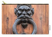 Old Face Door Knocker Carry-all Pouch