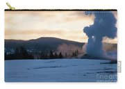 Old Faithful At Daybreak Carry-all Pouch