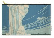 Old Faithful At Yellowstone Carry-all Pouch