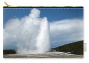 Old Faithful Erupts Carry-all Pouch