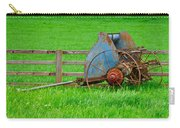 Old Farm Equipment Carry-all Pouch