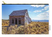 Old Farm House Widtsoe Utah Ghost Town Carry-all Pouch