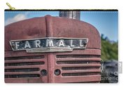 Old Farmall Tractor Grill And Nameplate Carry-all Pouch