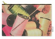 Old Fashion Threads Carry-all Pouch