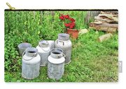 Old Fashioned Milk Churns Carry-all Pouch