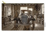 Old Fashioned Tlc Monochrome Carry-all Pouch