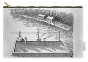 Old Ferryboat Patent Carry-all Pouch