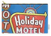 Old Fifties Vegas Hotel Sign Painting Carry-all Pouch
