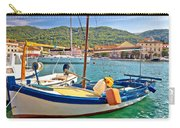 Old Fishermen Harbor Of Stari Grad Carry-all Pouch