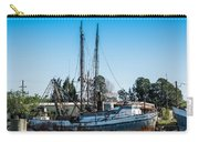 Old Fishing Boat In Port Carry-all Pouch