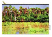 Old Florida Loop Palms Carry-all Pouch