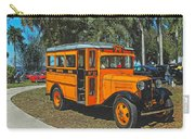 Old Ford School Bus No. 32 Carry-all Pouch