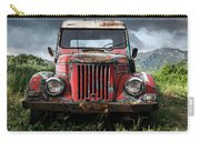 Old Forgotten Red Car Carry-all Pouch