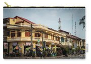 Old French Colonial Architecture In Kampot Town Street Cambodia Carry-all Pouch