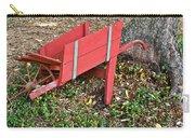 Old Garden Wheel Barrow Carry-all Pouch